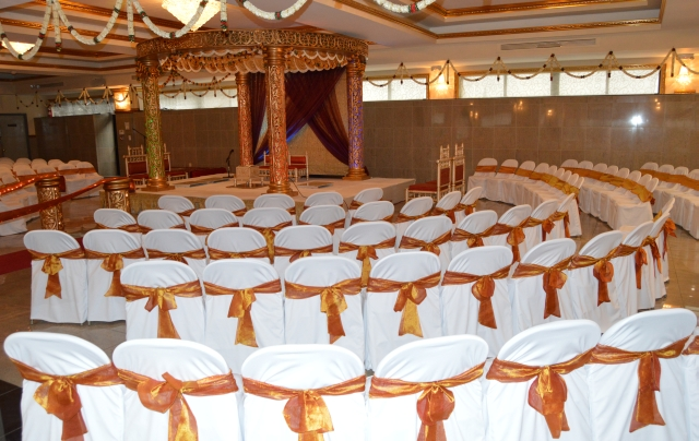 Book a hall for wedding and functions.
