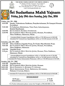 sudarsana yajnam program16