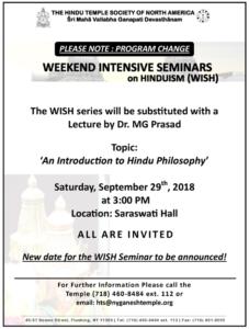 WISH-Seminar 2018