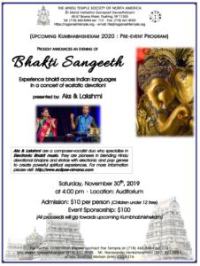Bhakti Sangeeth'19