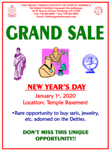 GRAND SALE FLYER